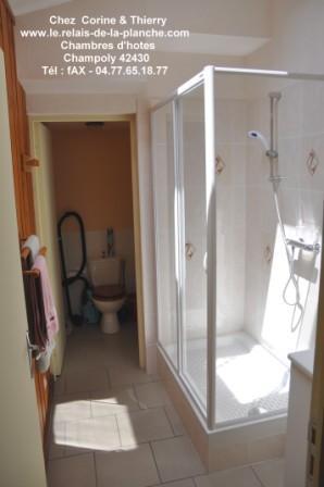 Nos chambres - Douche dans la chambre ...